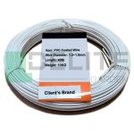 steel wire pvc coated