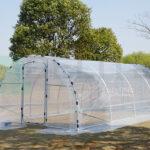 6x3x2m greenhouse
