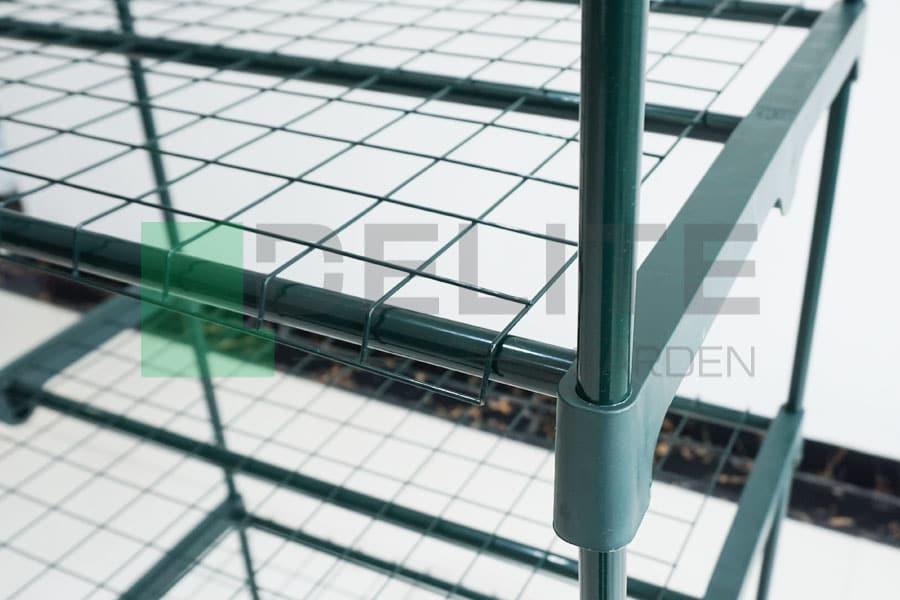 tier mini greenhouse detail